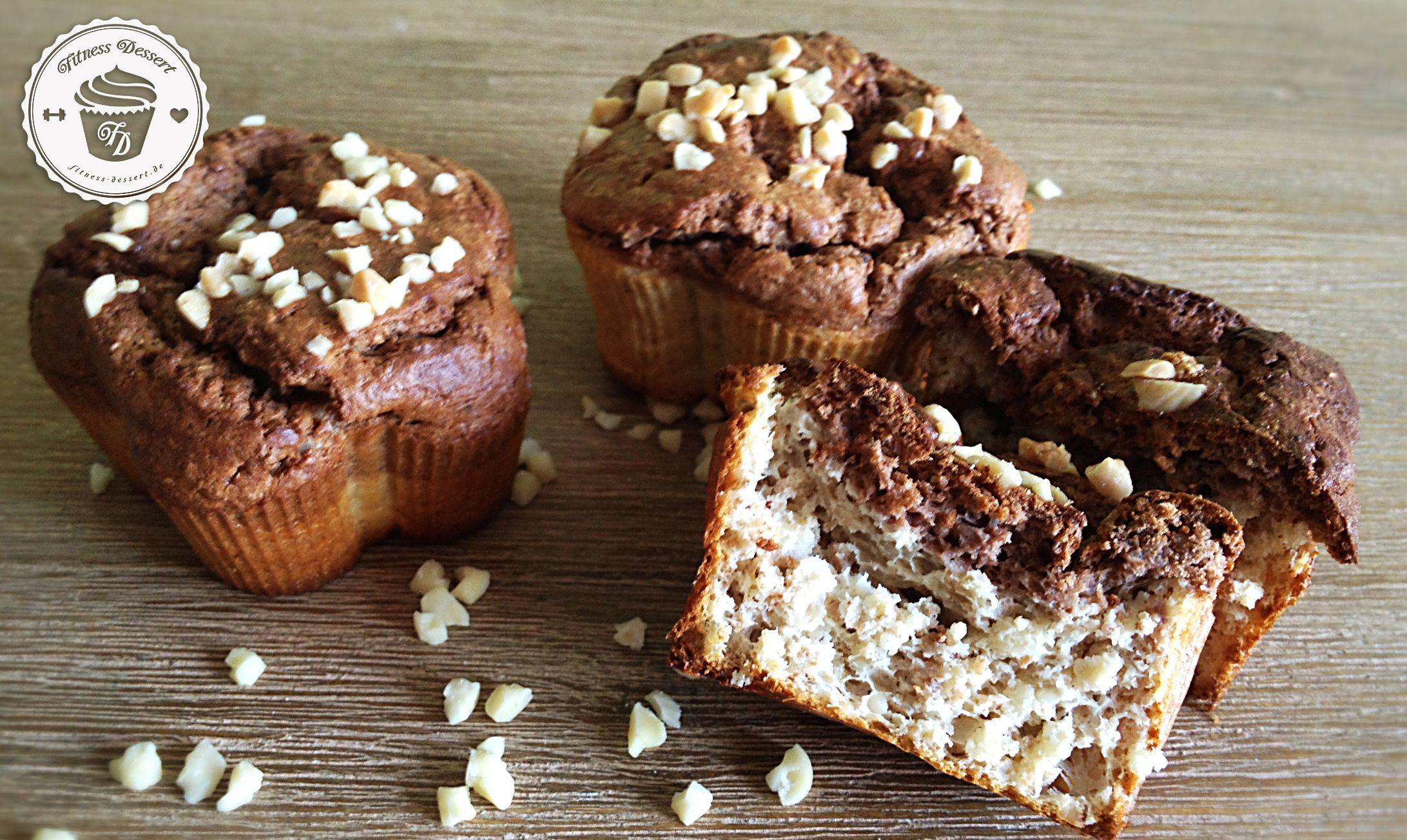 Schoko Muffins Low carb Mengenangaben für 10 Muffins Nährwerte pro Muffin kcal Eiweiß g Fett g