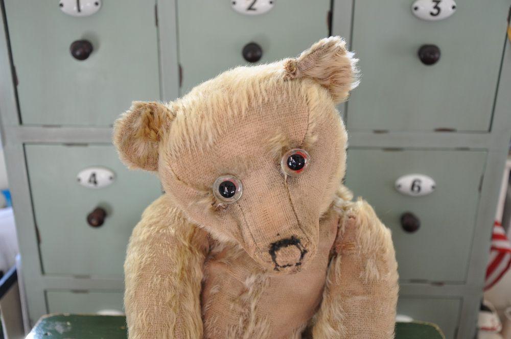 """15"""" Early English Farnell teddy bear ~ Winnie the Pooh"""