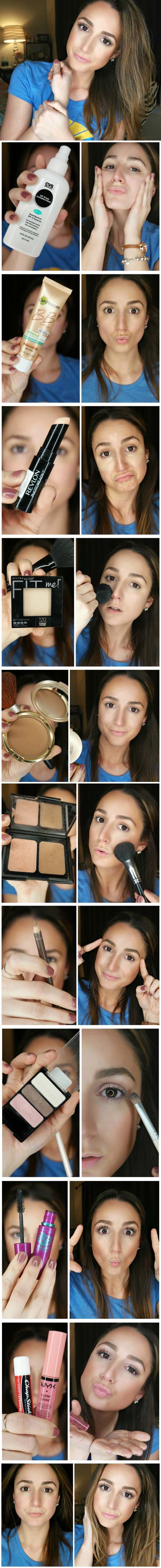 Best Makeup Tutorials For Teens 5 Minute Everyday Makeup Routine  Easy  Makeup Ideas For