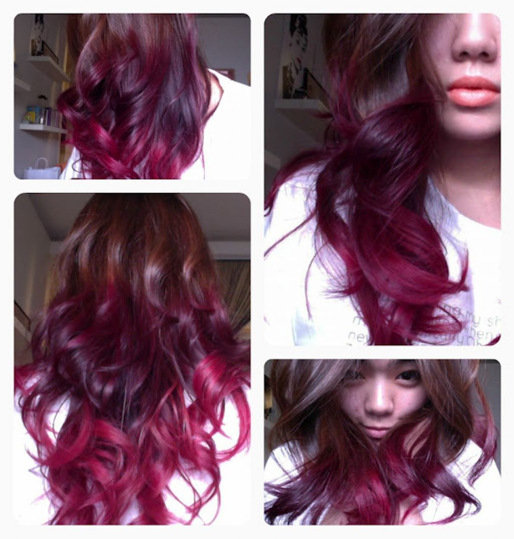 Black Cherry Hair Dye - Dark Hair vs. Fine Hair - Hair Dye Tips ...