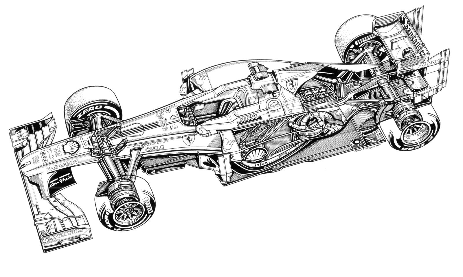 The Cutaway Drawing And Its Artists Page 266 The Nostalgia Forum Technical Illustration Drawings Cutaway