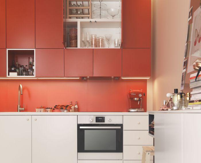 Mobler Inredning Och Inspiration Cocina Roja Y Blanca Cocinas