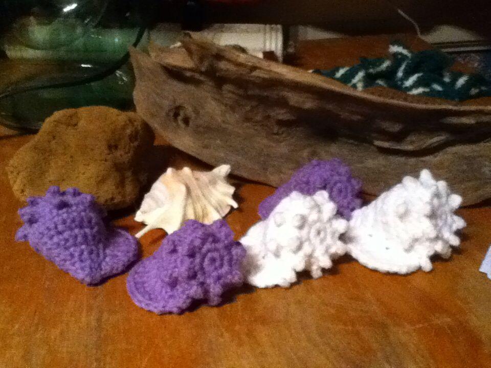 Crochet Seashells Pattern By Susan Whitlock Mamamadecrochet