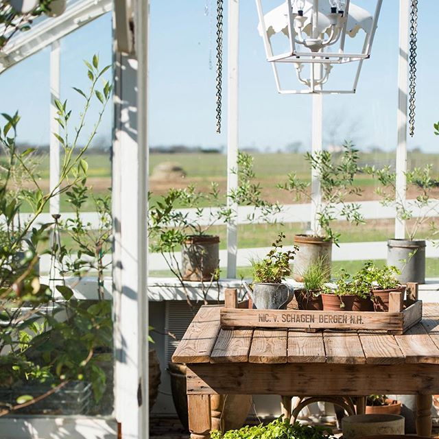 Life on the farm greenhouse gardening chip joanna for Garden shed fixer upper