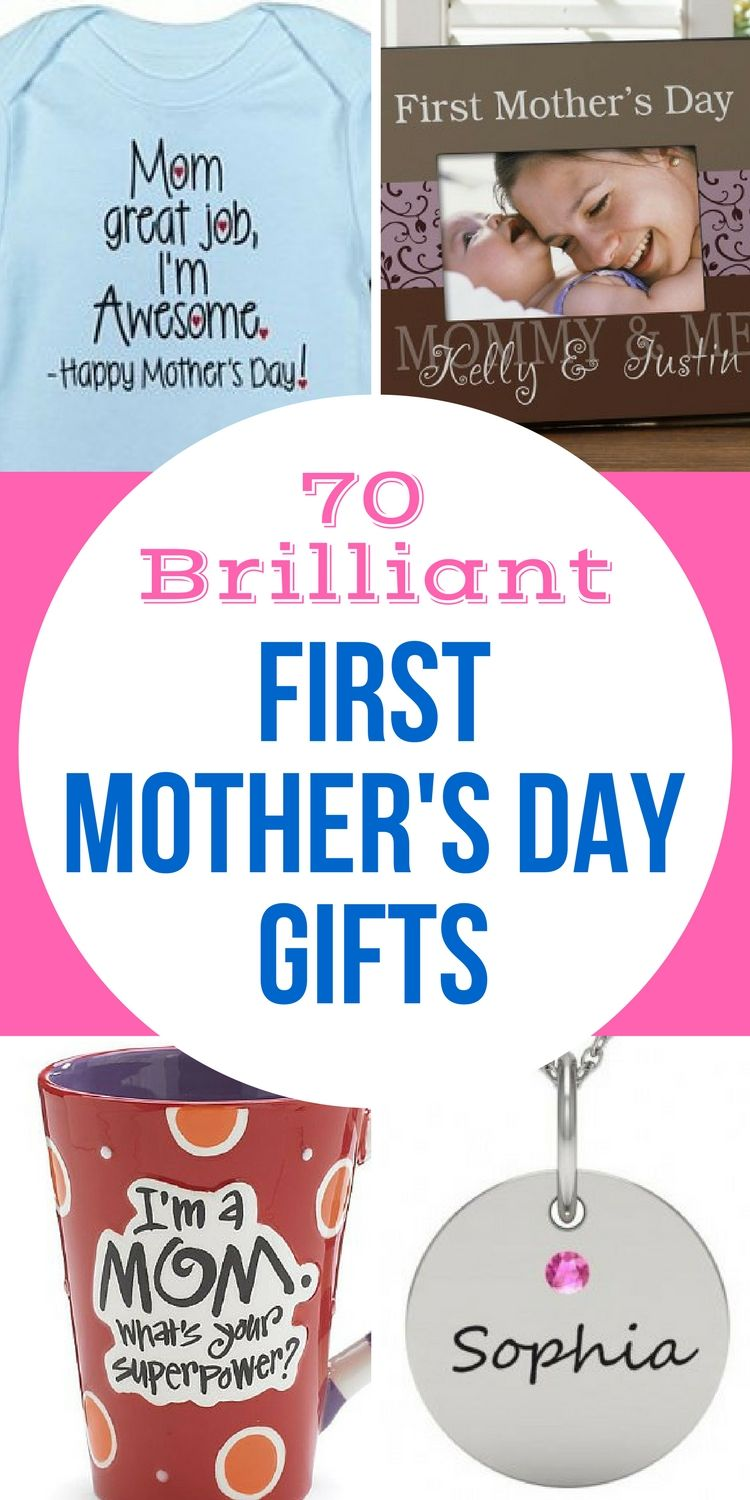 First Mother S Day Gifts 2018 Love This Delightful Collection Of 1st Gift Ideas Find New Mom From Baby Dad Everything You Need