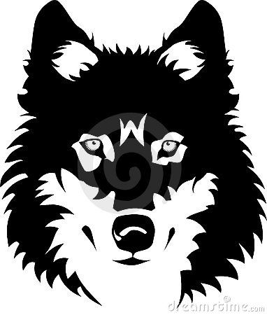 wolf face outline wolff outline new calendar template site