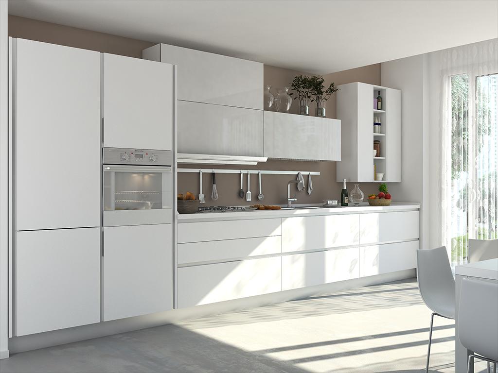 Cucine Moderne Bianche E Grigie Lube.Essenza Cucine Moderne Cucine Lube Kitchen Nel 2019