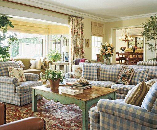 Ad 100 Ferguson Shamamian French Cottage Living Room Cottage