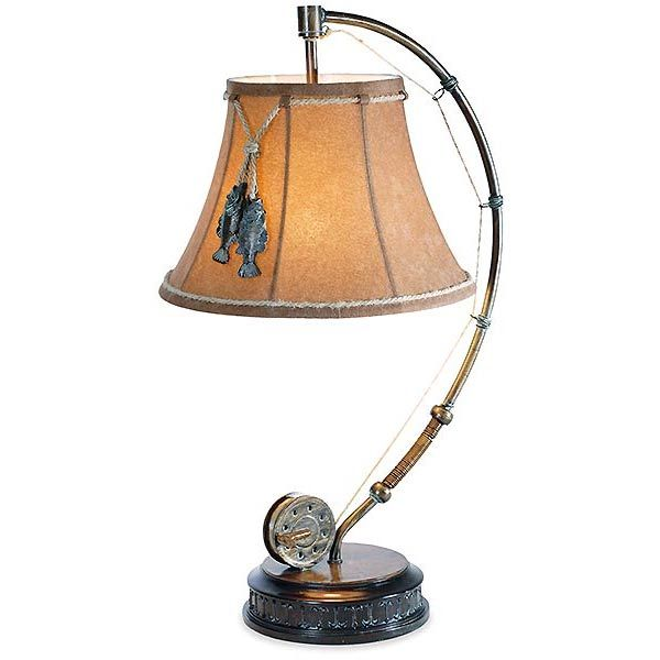 Catch of the Day Table Lamp | Table lamp, Unique lamps