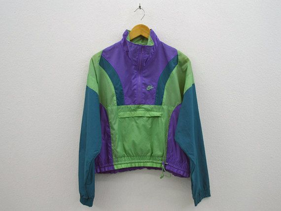 Windbreaker Activewear Jacket 90s Vintage Nike BOwxq6FaF