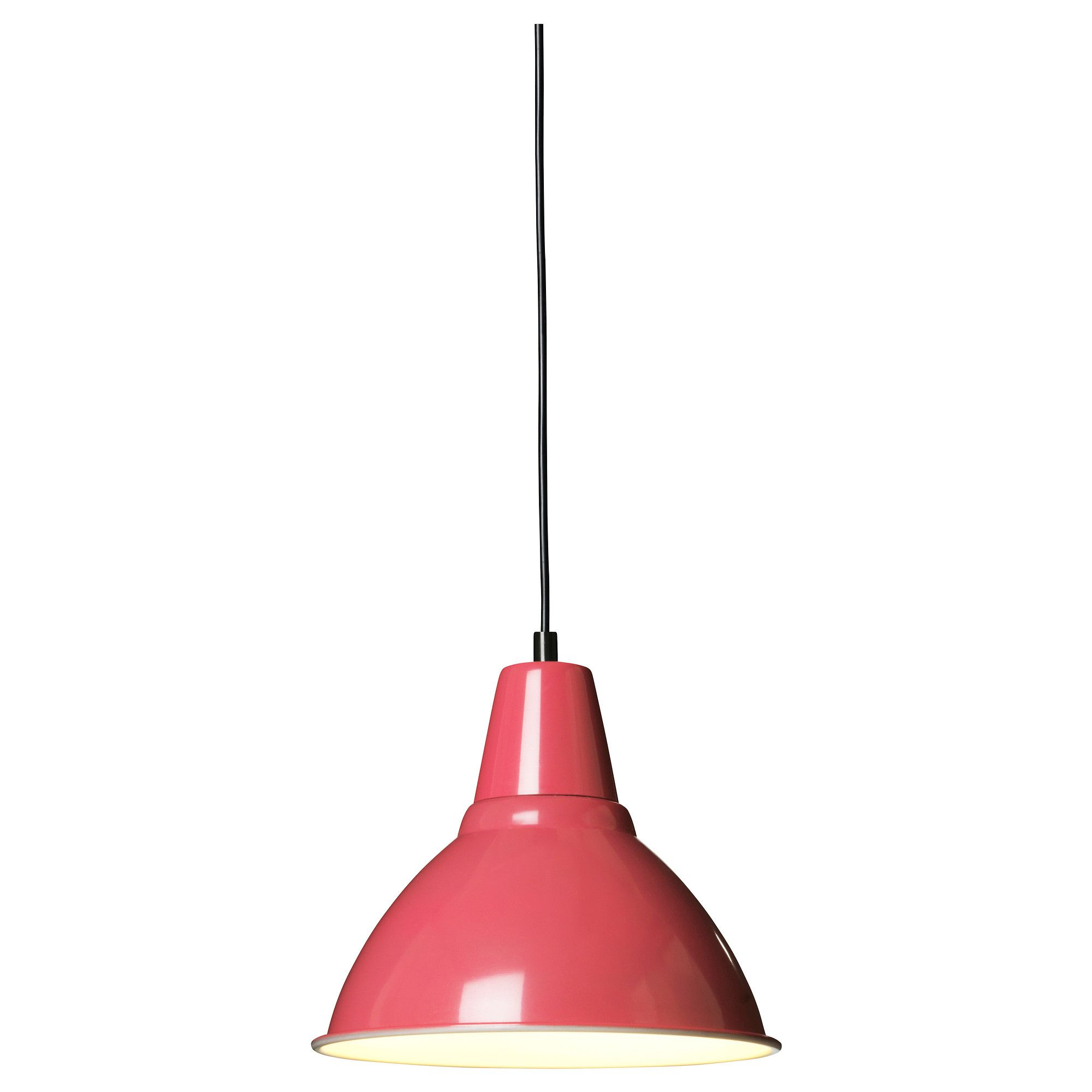 Red Kitchen Lamp: IKEA--would Be Great Color For