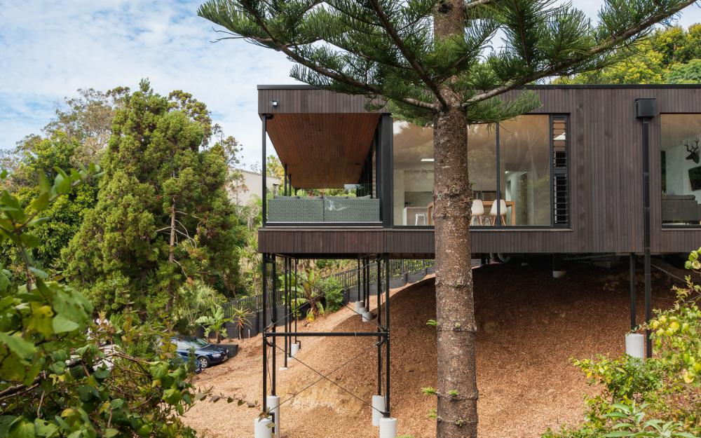 Ltd Architectural Design Studio Duncansby Road Casas En Colinas Casas En Terreno Inclinado Casas De Tierra