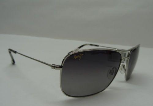 209e8d1bd89 cool Maui Jim Wiki Wiki MJ-246-17 59 17-120 Titanium Gray Polarized  Sunglasses E3003