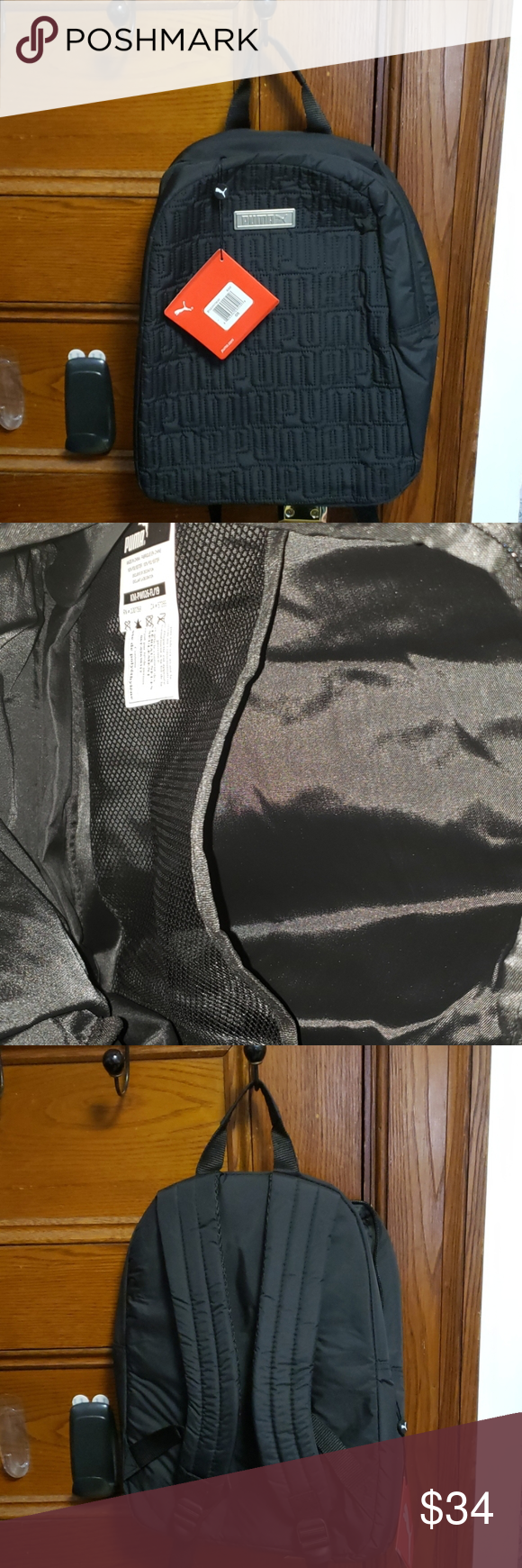 Temporada Dólar Moda  Nwt Puma Alpha mini Backpack in 2020   Backpack brands, Clothes design,  Fashion boutique