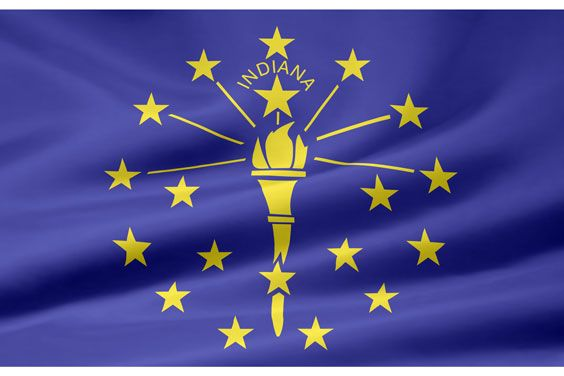Indiana Definition Information And Related Tags Indiana State Flag Indiana Flag Indiana