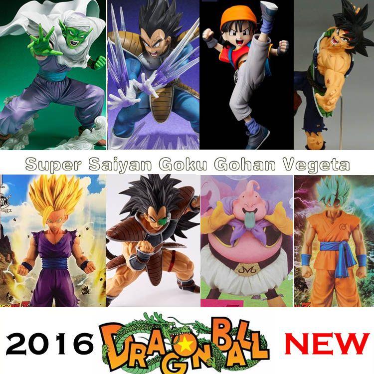 Dragon Ball Z Super Blue Hair Goku Vegeta Pvc Action Figure Dbz Pan Picollo Buu Raditz Trunks Collectible Mod Dragon Ball Z Goku And Vegeta Action Figures Toys