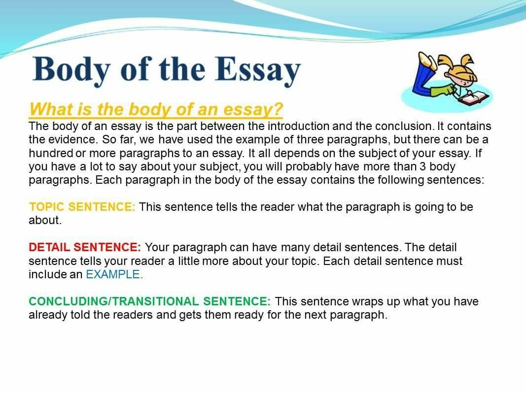 Pin By Cindy Campbell On Grammar English Language Essay Introduction Example Words Paragraph