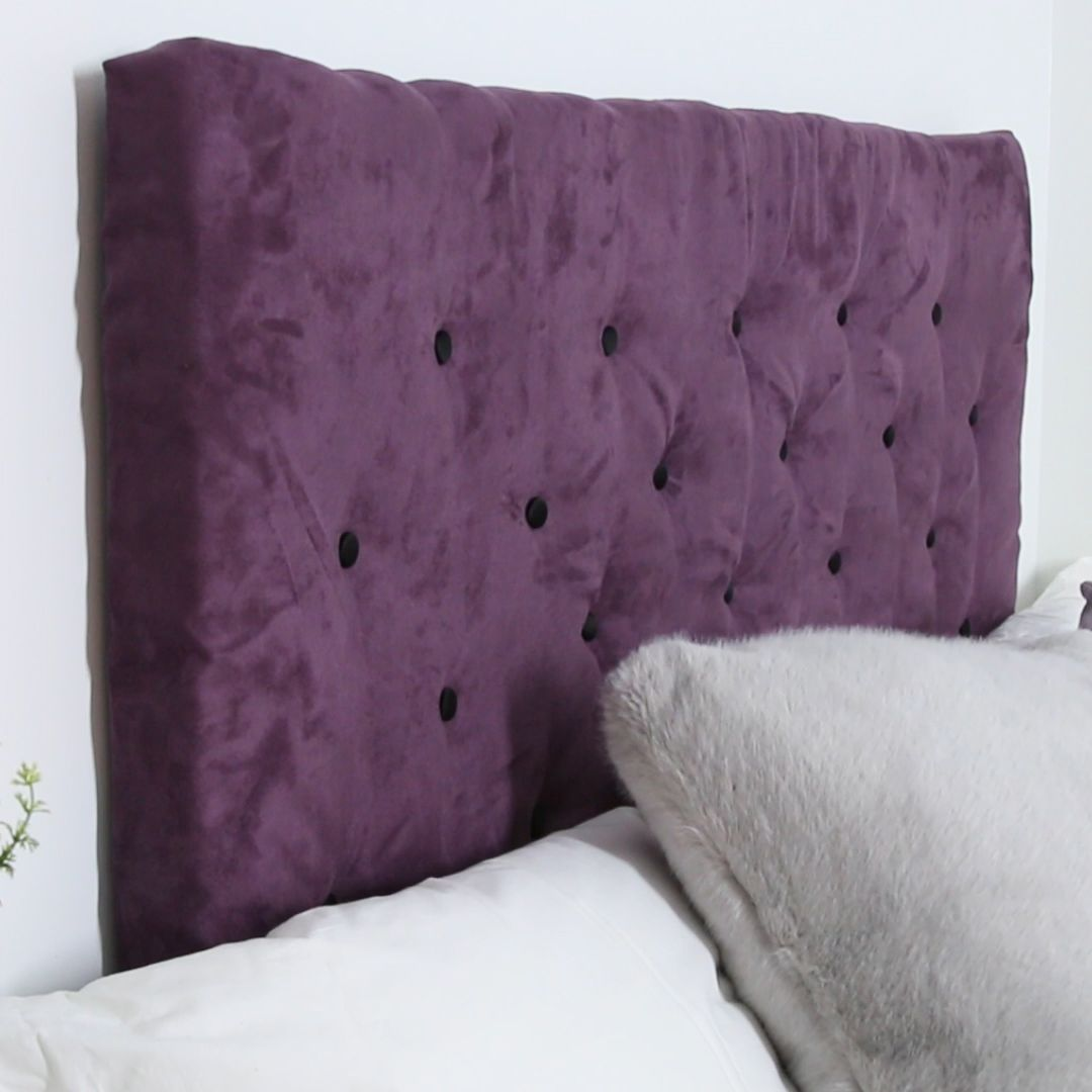 Literally Anyone Could Make This Tufted Headboard | Pinterest ...