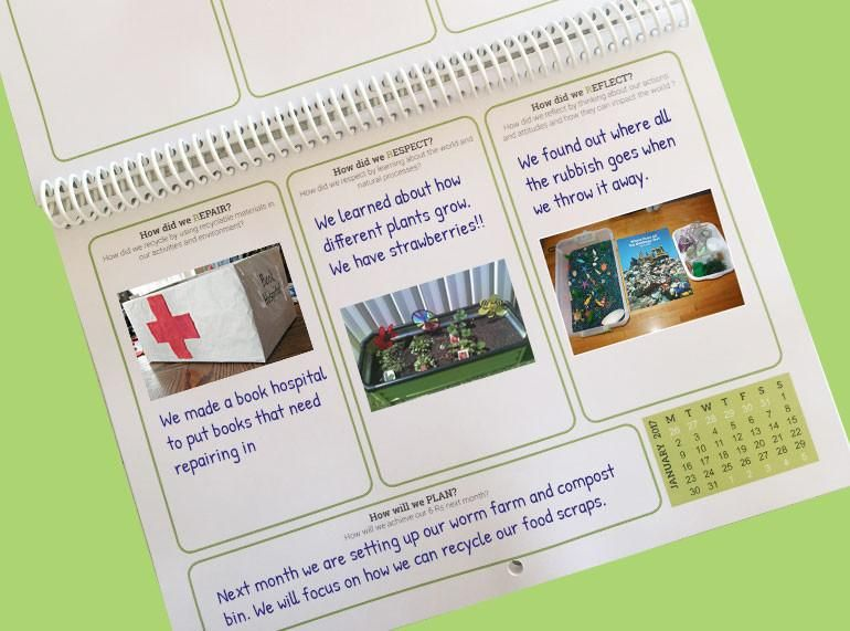 Our Sustainable Year 2020 Wall Calendar Sustainability