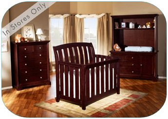 Brookline Collection. This is so pretty. There is a nightstand that goes with the set so that when the kiddo grows up and you convert the crib, he/she will have a full bedroom set.