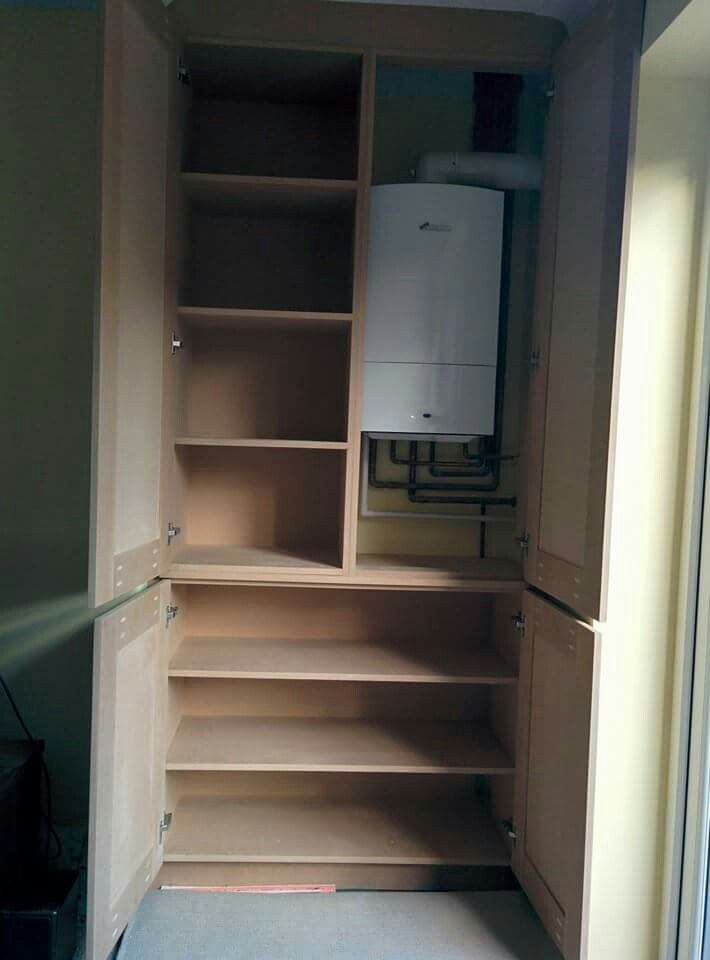 Alcove Boiler Cabinet Airing Cupboard Cupboard Storage