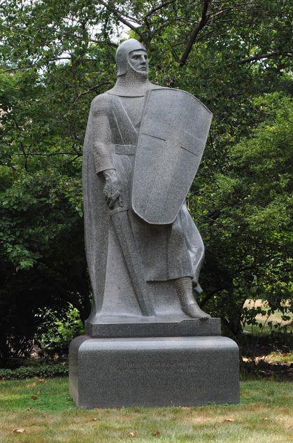 The Crusader Chicago Statues Sculptures Sculpting Sculpture Statue