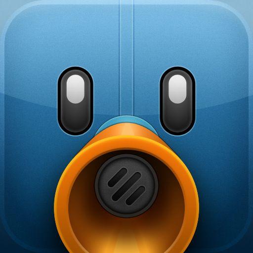 Tweetbot iOS App Icon | iOS Icon Design | Twitter app, Ios