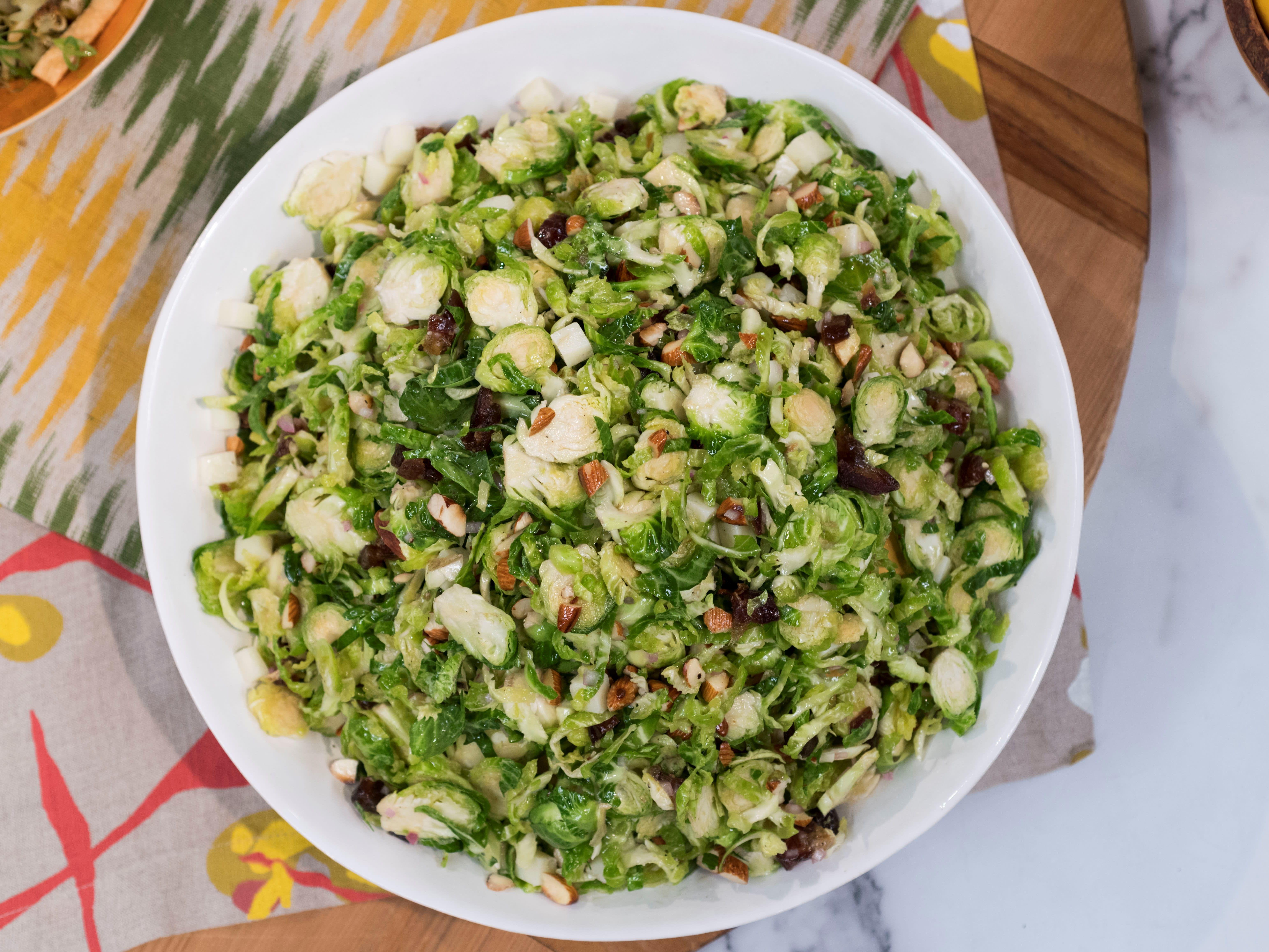Brussel Sprout Recipes Salad Balsamic Vinegar