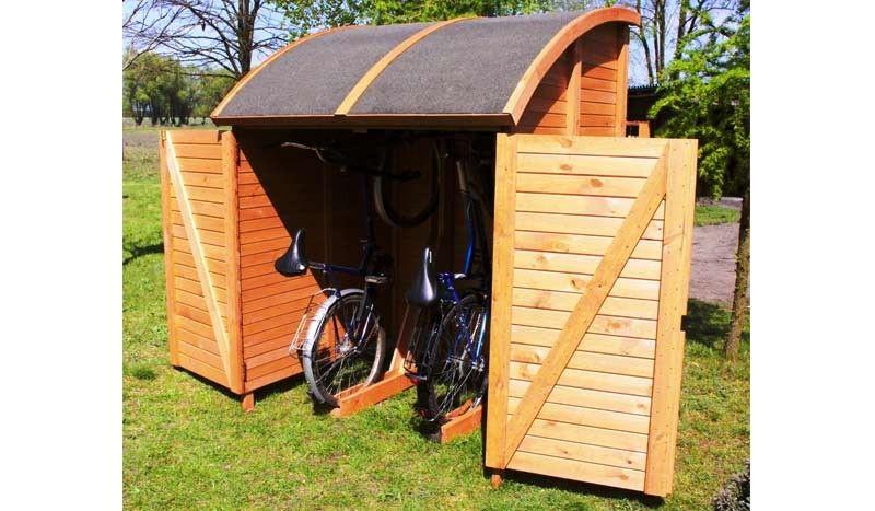 pin von andrea l demann auf fahrradgarage pinterest fahrradgarage fahrradhaus und gartenzubeh r. Black Bedroom Furniture Sets. Home Design Ideas