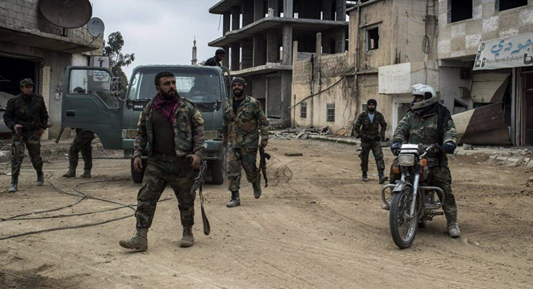 Syrian-Army-in-Daraa
