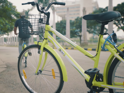 Uber S Indian Rival Ola Begins Offering A Bicycle Sharing Service
