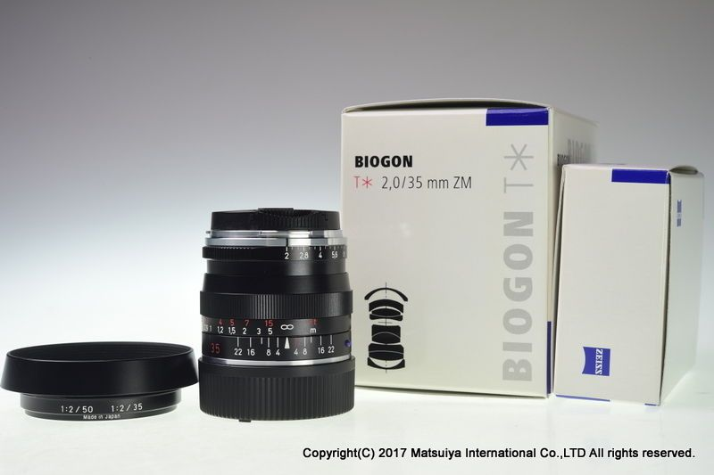 Carl Zeiss Biogon T * 35mm f/2 ZM Excellent+ | Newly Listed