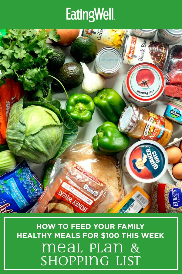A Cheap, Healthy Meal Plan to Feed My Family for $100 for the Week images