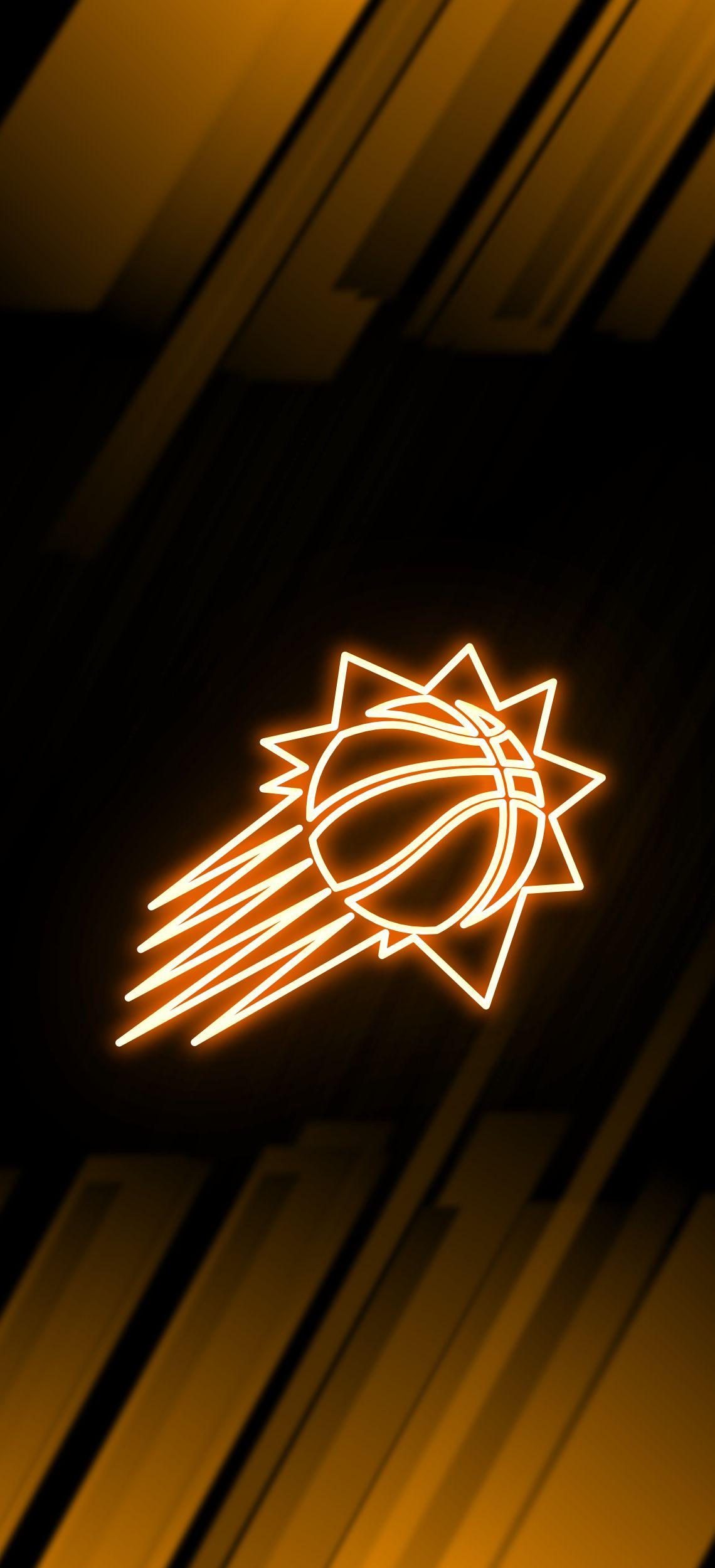 Phoenix Suns Neon Wallpaper Phoenix Suns Nba Wallpapers Neon Wallpaper