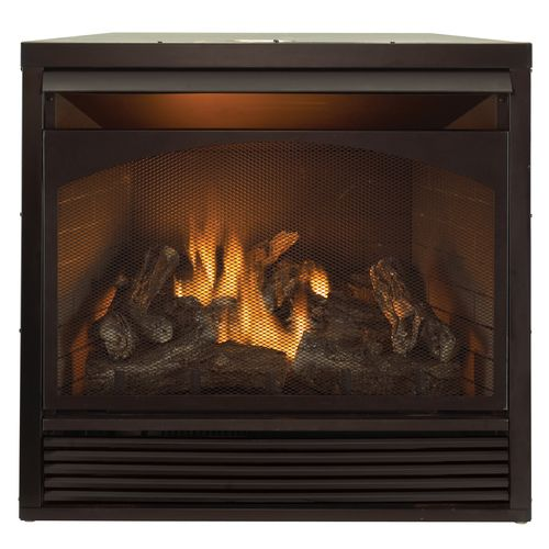 32 000 Btu Duluth Forge Dual Fuel Vent Free Fireplace Insert Gas