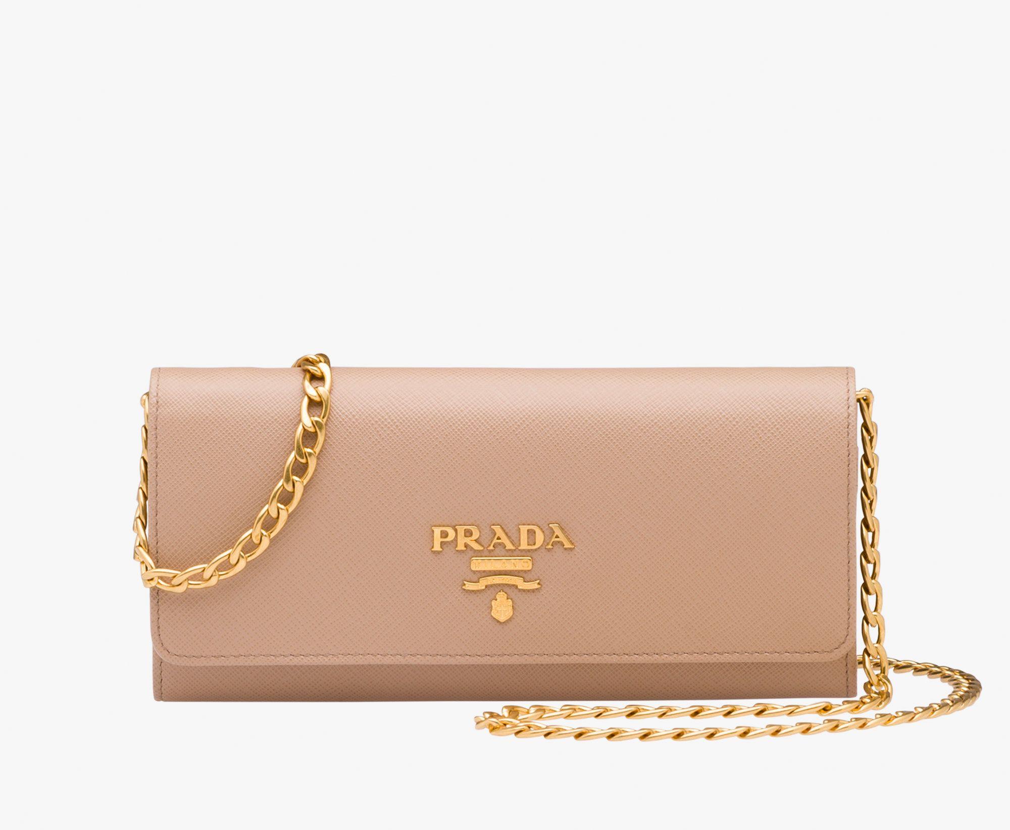 f1a5613c095b Skórzana torba na ramię Prada CAMEO BEIGE | bags in 2019 | Leather ...