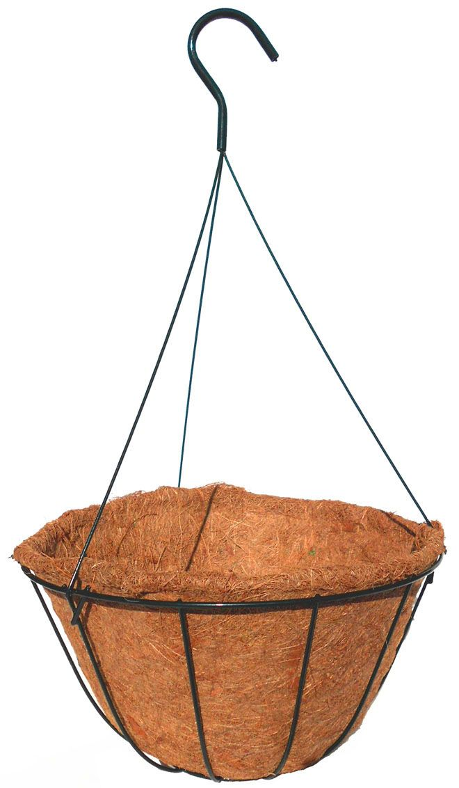 14 Coco Basket With Wire Hanger Wire Hangers Hanger Hanging Baskets