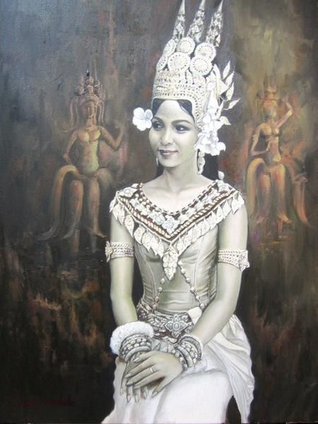khmer apsara pictures - 450×600