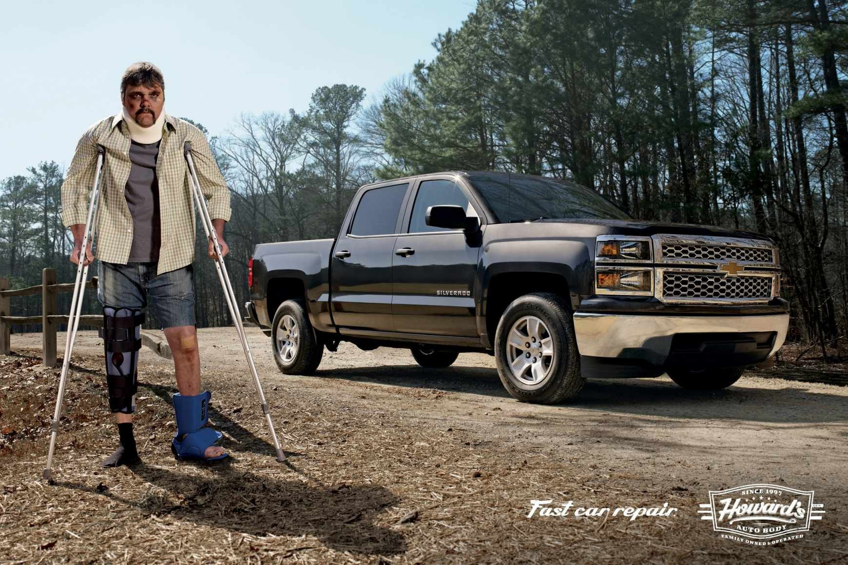 Howards auto body truck ads of the world publicidad