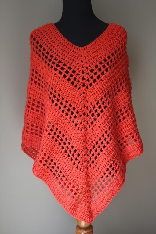 Versatile Crochet Poncho Pattern | Pinterest | Crochet poncho ...