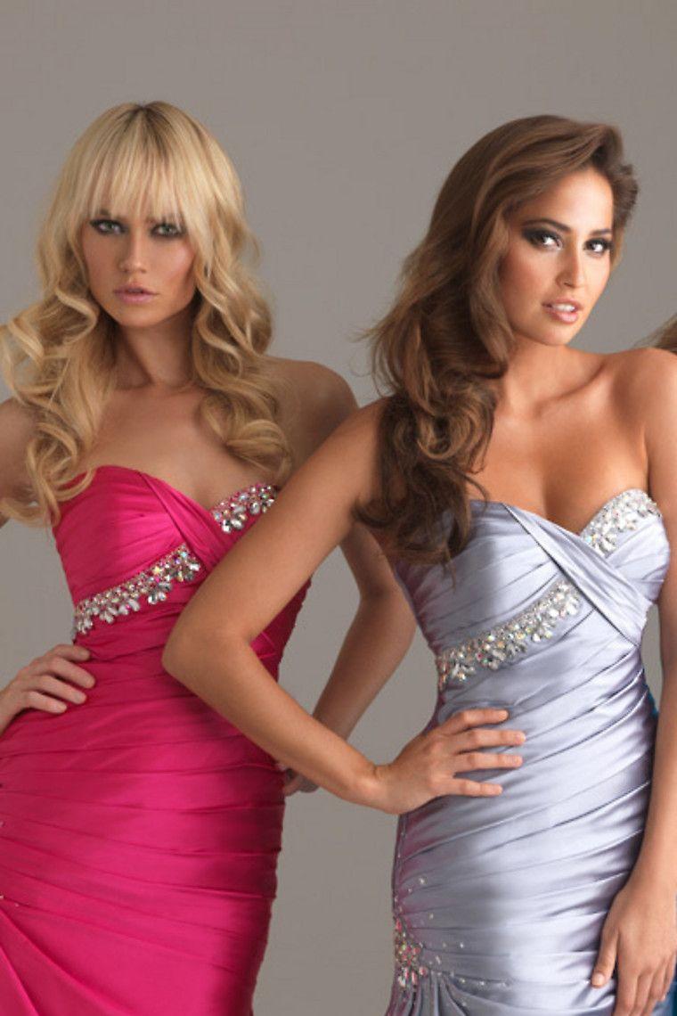 Shop chic modern prom dress trumpet mermaid floor length sleeveless