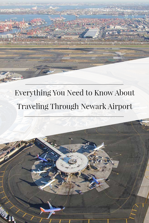 Newark Airport Map And Terminal Guide Parking Public Transportation Food And More Newark Airport Newark Travel And Leisure