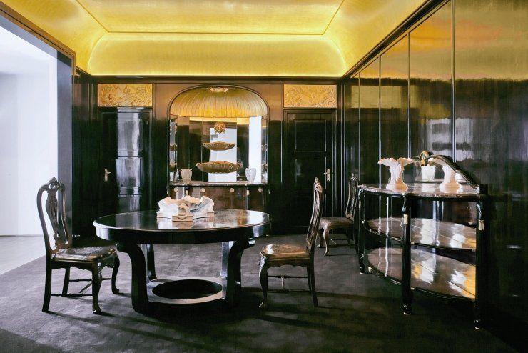 salle a manger Louis Sue et Andre Mare, 1920-21 I N T E R I O R S - salle a manger louis