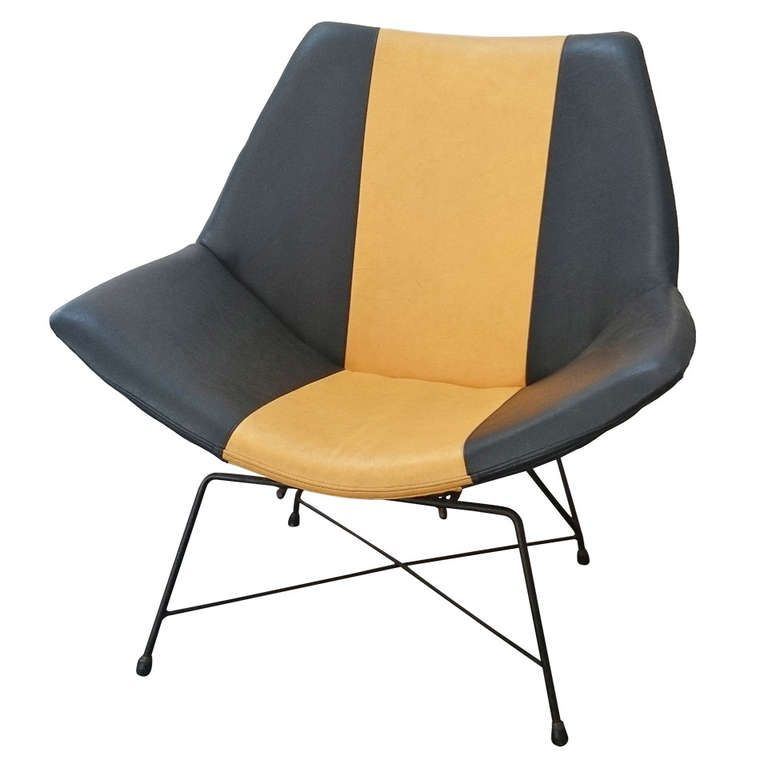 Augusto Bozzi for Fratelli Saporiti Kosmos Lounge Chair ca.1954