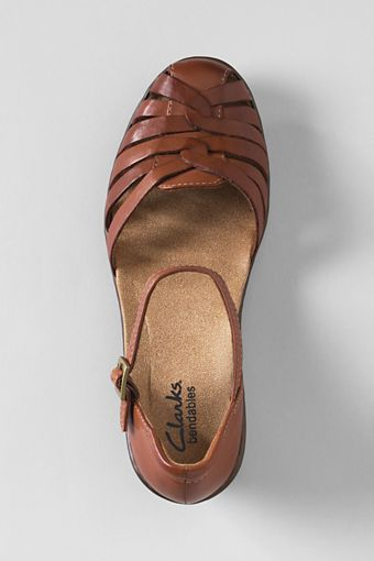 1b3e39fc21d9 Women s Clarks Wendy Land Fisherman Sandals from Lands  End Clarks Sandals