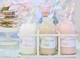Mini milks  by Torie Jayne