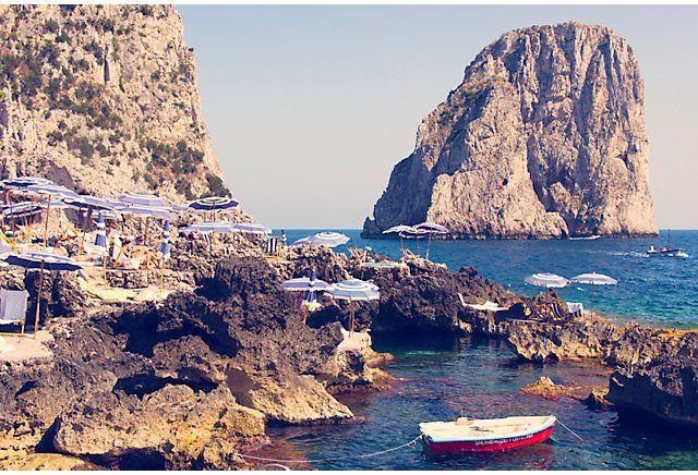 La Fontelina Beach Club & Restaurant Capri, Italy – My ...  |Capri Beach Scenes