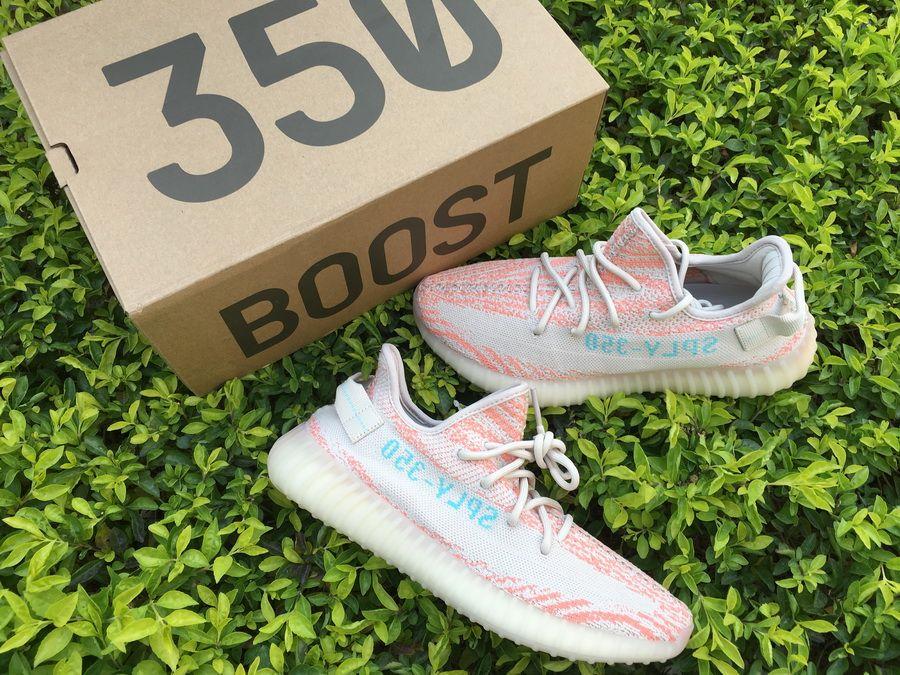 39b54da6e13 Discount Adidas Yeezy Boost 350 V2 Clear Brown Chalk Coral-Clear Aqua –  Sole Adidas
