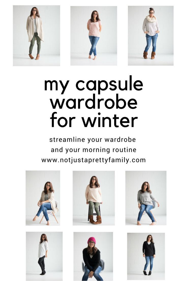 My capsule wardrobe was a game changer for my morning.  Find out how I built mine and how easy it is!