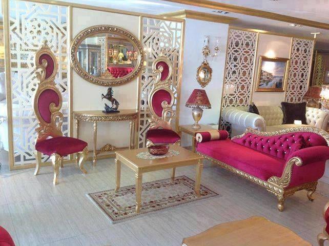 Royal Seting Like Maharaja Furniture Luxury Dining Room Decor